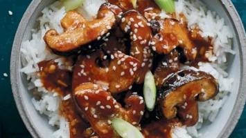 Рецепт жареный шиитаке по-азиатски
