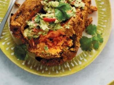 Рецепт батата с хрустящей корочкой карри для веганов и не только
