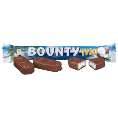 Батончик Bounty Trio, 24 шт по 82 г