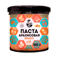 Арахисовая паста Кранч, 300 г