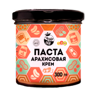 Арахисовая паста Крем, 300 г..