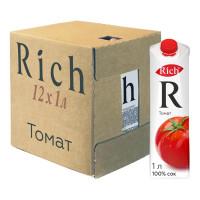 Сок Rich Томат, 12 шт по 1 л