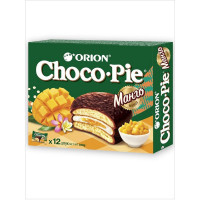 Пирожное Orion Choco Pie манго 12 ш..