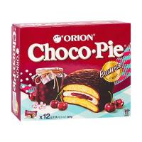 Пирожное Orion Choco Pie вишня 12 шт по 30г