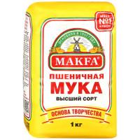 Мука Макфа Пшеничная высший сорт, 1 кг