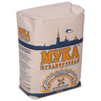 Мука Предпортовая ПМК пшеничная хлебопекарная в\с, 1 кг