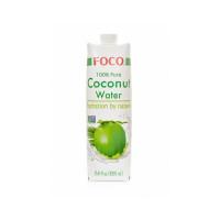 """Органическая кокосовая вода """"FOCO"""", 1 л"""