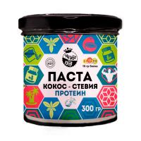 Кокосовая паста с протеином и стевией, 300 г