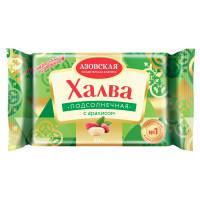 Халва подсолнечная с арахисом КФ Азовская, 350 г (удаление)