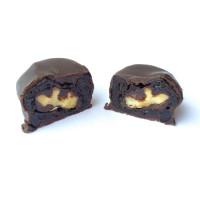 Чернослив с грецким орехом в темном шоколаде, 500 г