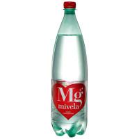 Вода минеральная Mivela Mg++ слабогазированная,1 л., ПЭТ