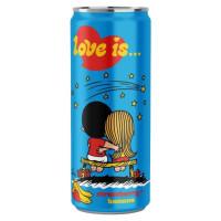 Напиток Love is…со вкусом Клубника и Банан 330мл