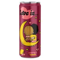 Напиток Love is…со вкусом Вишни и Лимона 330мл