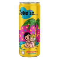 Напиток Love is…со вкусом Ананас и Кокос 330мл