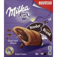 Батончики Milka Tender Break Choco, 130 г