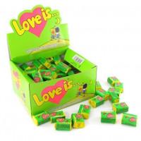 Жевательная резинка Love is Яблоко и Лимон, 100 шт