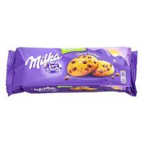 Овсяное печенье Milka Choco Cookies с кусочками шоколада, 135 г