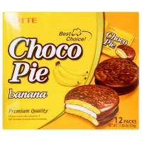 Пирожное Orion Choco Pie Банан 12 шт по 30г