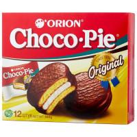 Пирожное Orion Choco Pie в глазури 12 шт по 30г