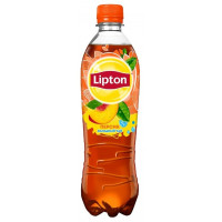 Чай Lipton Персик, ПЭТ 0,5 л