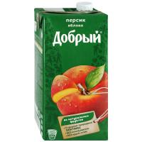 Сок Добрый Персик, 2 л
