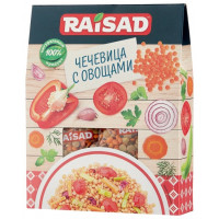 Чечевица с овощами Raisad «от Шеф-повора» 200 г