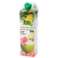 100 % Кокосовая вода KING ISLAND, 1000 мл