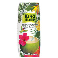 100 % Кокосовая вода KING ISLAND, 250 мл