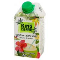 100 % Кокосовая вода KING ISLAND, 500 мл