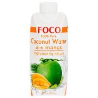"""Кокосовая вода с манго """"FOCO"""", 330 мл"""