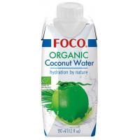 """Органическая кокосовая вода """"FOCO"""", 330 мл"""
