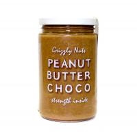 "Арахисовая паста шоколадная ""Chocolate"" GRIZZLY NUTS, 370 г"